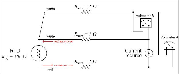 Вольтметр «A» измеряет сумму